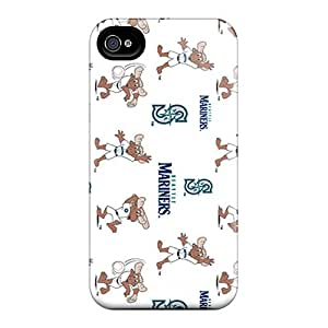 Protective Hard Phone Cover For Iphone 6plus (WuW16599JyhG) Allow Personal Design Trendy Seattle Mariners Skin