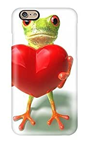 High Quality MsbYuWm425lwPAT Frog Holding A Heart Cgi 3d Abstract Cgi Tpu Case For Iphone 6