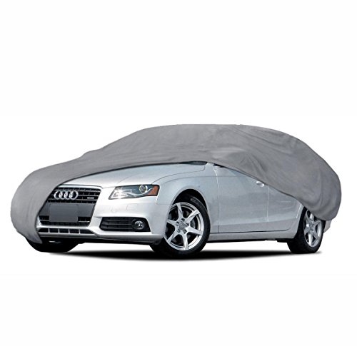 BDKUSA Car Cover for Audi A4 91-14 Waterproof Sun UV Proof Breathable Multi Layers ()