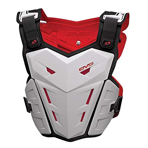EVS F1 Chest Protector , Primary Color: White, Distinct Name: White, Size: Lg-XL, Gender: Mens/Unisex F1WH-L/XL (ADULT) ()