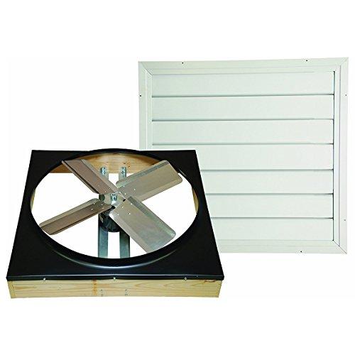 85%OFF Ventamatic Whole House Fan - 30in., Direct-Drive, Model# CX302DDWT