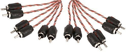 Stinger SI4612 12-Foot 4000 Series Professional 6 Channel RCA Interconnects