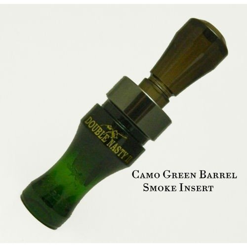 - Buck Gardner Calls Perf Poly Double Nasty 2 Reed Call, Camo/Smoke
