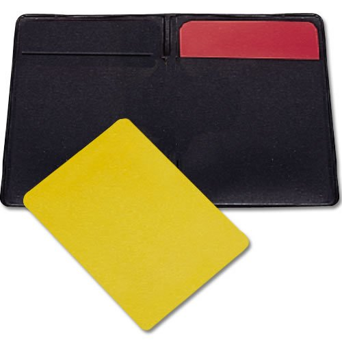 (BSN Soccer Referee Warning Cards and Wallet)