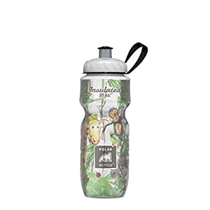 Polar Bottle Insulated Water Bottle Limited Edition (20-ounce, Kids Jungle)