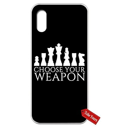 Amazon.com: Inspired Quotes Phone Case Choose Your Weapon ...