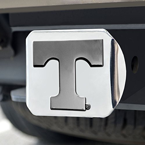 FANMATS  15061  NCAA University of Tennessee Volunteers Chrome Hitch Cover