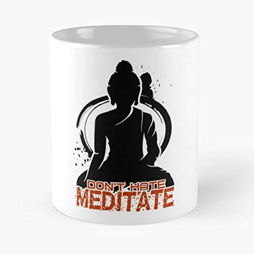 - Buddha Peace Karma Yoga Coffee Mugs Best Gift 11 Oz