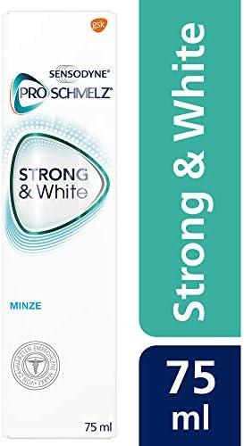 [Gesponsert]Sensodyne ProSchmelz STRONG&White, tägliche Whitening Zahnpasta mit Fluorid, bei säurebedingtem Zahnschmelzabbau...