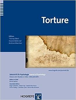 Torture (Zeitschrift fur Psychologie)