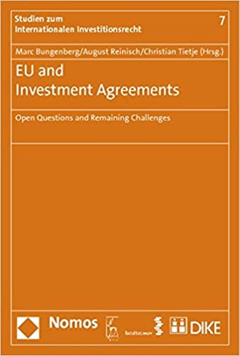 Eu And Investment Agreements: Open Questions And Remaining