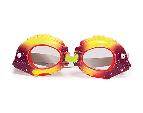 Poolmaster Fun, Colorful, Durable, Animal Frame Child Swimming Goggles, 6-Pack (Set includes: Duck, Fish, Crab, Shark, Turtle and Octopus)