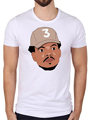 Chance White T-shirt (MYOS Chance The Rapper 'Portait' White T-Shirt)
