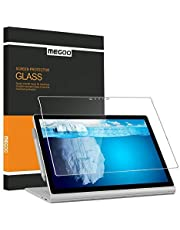 MEGOO Screen Protector for Surface Book 2/3 15 Inch, Tempered Glass/Easy Installation/Anti-Scratch, Compatible with Microsoft Surface Pen
