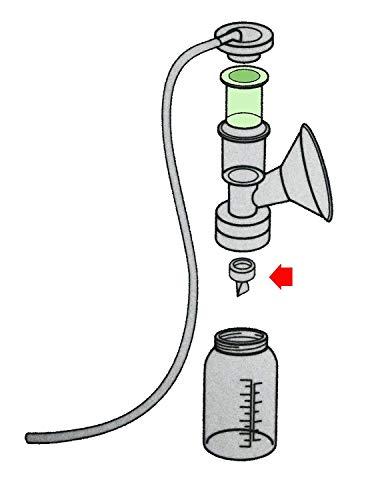 Duckbill Valves for Medela and Spectra, COOLMI Pump Valve for Spectra S1 Spectra S2 Spectra and Medela Pump in Style, Pump Duckbills to Replace Medela Valve and Spectra Valve (6 Pack) by COOLMI (Image #6)