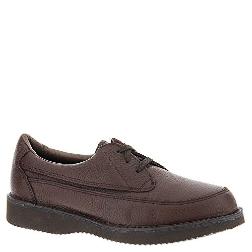 Walkabout Mens Casual/325 Leather Lace Up Casual Oxfords, Brown, Size 8.5
