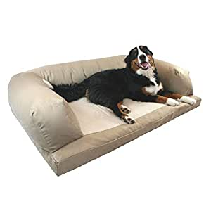 Amazon Com Dog Bed And Couch Extra Large Tan Baxter