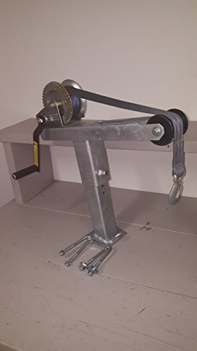 - Die-matic Heavy Duty Angled Winch Stand W/1400lbs Dutton Liason winch (Galvanized)