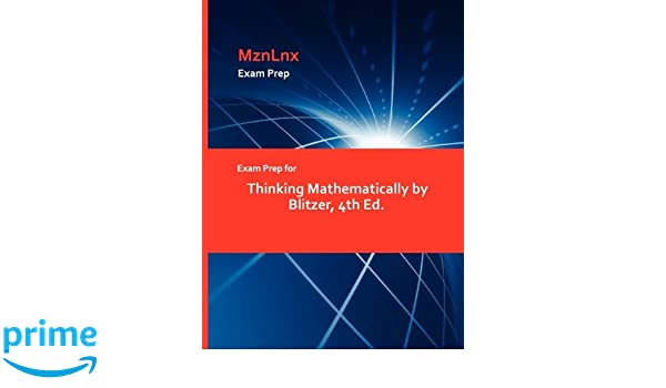 Thinking mathematically value pack (includes student solutions.