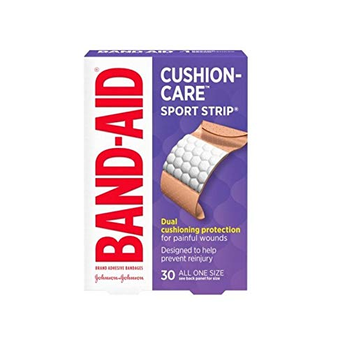 BAND-AID Bandages Sport Strip Extra Wide 30 Each (Pack of 9) by Band-Aid