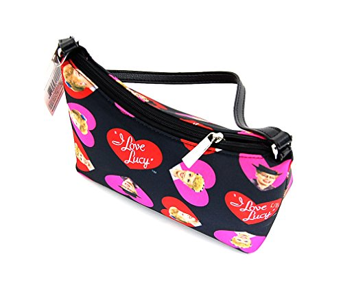 I Love Lucy Signature Product Women's Hobo LU65,Black/Hearts,US by I Love Lucy (Image #1)
