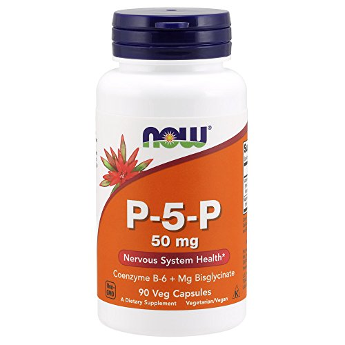 Now Supplements, P-5-P 50 mg, 90 Veg Capsules