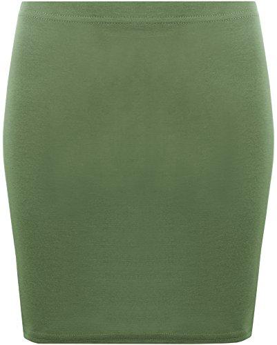 Femmes Jupes Kaki WearAll Mini 42 jupe lastique 36 Tailles wqOvg1