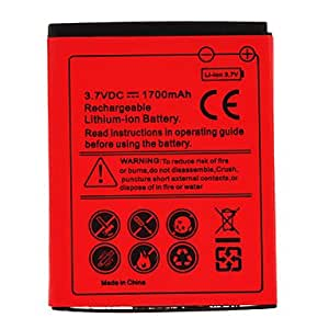 1700mAh Replace Li-ion Battery for HTC Mytouch 4G/Thunderbolt 4G (3.7V)