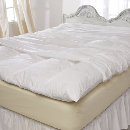 Pacific Coast® Feather Bed Cover w zip closure Twin (Featherbed not included) 155