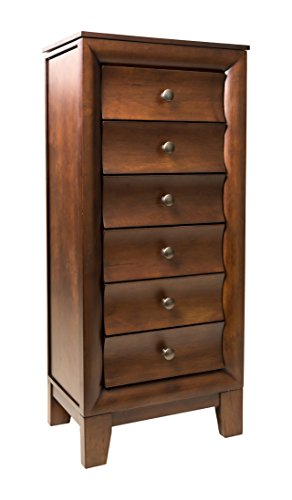 Hives and Honey 'ASHLEY' Jewelry Armoire, Antique Walnut by Hives and Honey