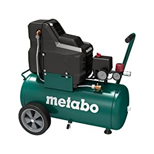 Metabo Compresor Basic 250-24 W OF 1.5kW, 8 bar, 24l, para corriente alterna monofásica