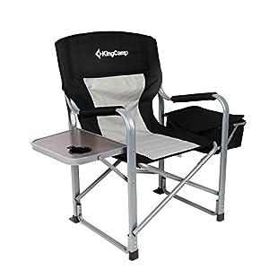 Amazon Com Kingcamp Heavy Duty Steel Folding Chair
