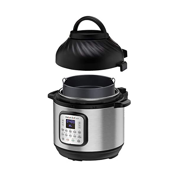Instant Pot Duo Crisp Pressure Cooker 11 in 1, 8 Qt with Air Fryer, Roast, Bake, Dehydrate and more 1