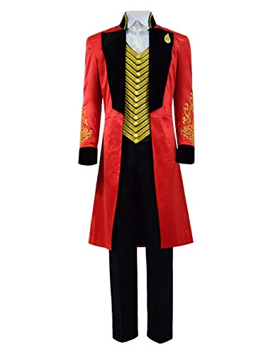 FHJQ Kids Boys PT Barnum Tailcoat Cosplay Outfit Performance Uniform Showman Party Suit Costume for Halloween Children (Kids 12)