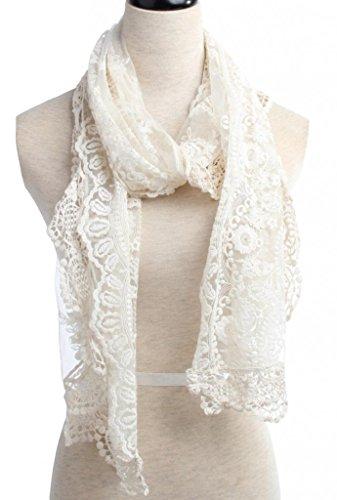 YYSTAR Womens Cream Fashion Crochet product image