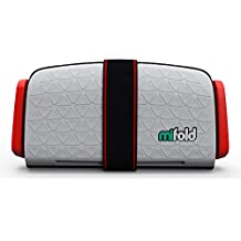 mifold Grab-and-Go Car Booster Seat, Pearl Grey