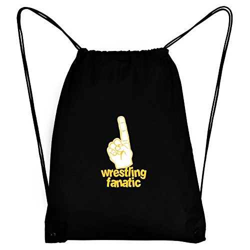Teeburon Wrestling Fanatic Sport Bag by Teeburon