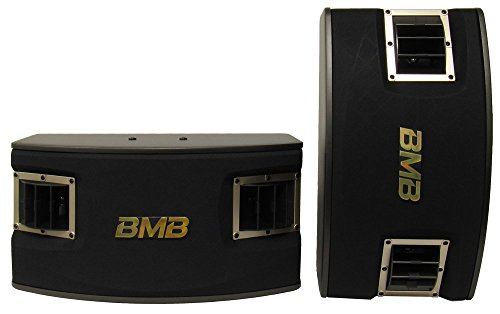 BMB CSV-450 (SE) 500W 10-Inch 3-Way Karaoke Speakers, Set of 2 (Speaker Karaoke Package)