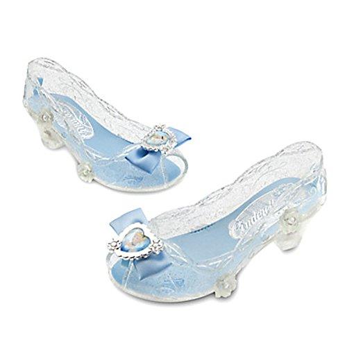 Disney Store Cinderella Light Up Costume Shoes for Girls (9/10) (Cinderella Disney Costume)