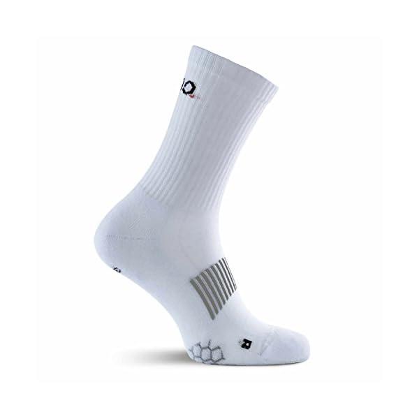 Eono Essentials Calzini Sportivi, Performance Sport Socks da Uomo e da Donna (da 3 Pezzi), Tennis, Basket, Fitness, Uso… 3 spesavip