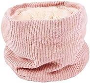 Autumn And Winter Bib Unisex Knitted Bib Plus Velvet Warm Neck Cover Scarf