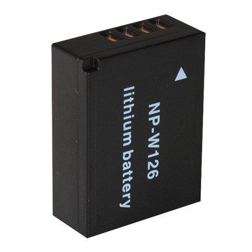 互換Liイオン充電式バッテリーパックforデジタルカメラ、ビデオビデオカメラモデル: Fujifilm NP w126 BC w126 npw126 bcw126   B01HY1ZC2I