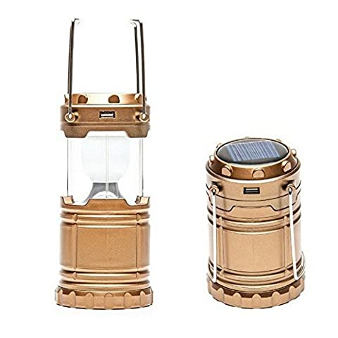 Scalable Solar Charging Camping Lantern - Tent Lamp - Emergency Lights - Suitable For Hiking Camping Emergencies - Charging for all Mobile Phone (including Android, IOS, and other mobile - Bronze Oak Bird Feeder