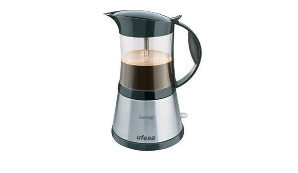 Ufesa CE7195 Naturale, Negro, Gris, 365 W, 230 V, 230 V, 50 Hz, 145 x 145 x 215 mm - Máquina de café: Amazon.es: Hogar