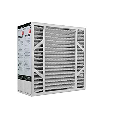 "Honeywell FC200E1011 MERV 13 Pleated Air Filter, 20"" x 20"" x 4"" (Pack of 2)"