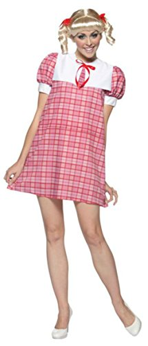 Rasta Imposta Womens Cindy Brady Bunch Series 60S 70S Halloween Costume, One Size (70s Tv Characters)