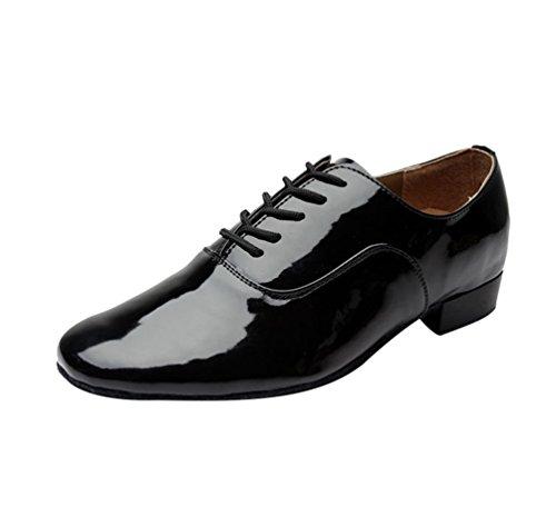Hommes Chaussures Danse de Pour Chaussures de Danse Noir Latine Professionnelles de Durables Jazz de Danse Chaussures Fête Lihaer xYq5XX