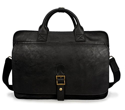 a le pelle Borsa uomo borsa SHOUTIBAO in viaggio Elegante da Borsa compartimento regalo tracolla brown perfetto per black multiplo da dark singola borsa a tracolla vacanze 60Owdwq1