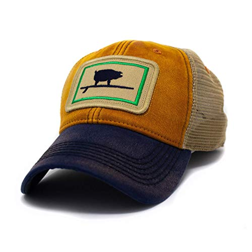 (Everyday Trucker Hat, Unstructured, Wave Hog, Ocean Sunset Blue)