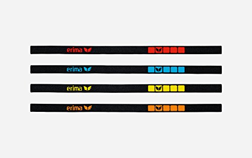 Erima Haarband »Black« (Set 4 Stück)